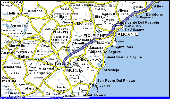 Land and property for sale for development on the costa blanca plots