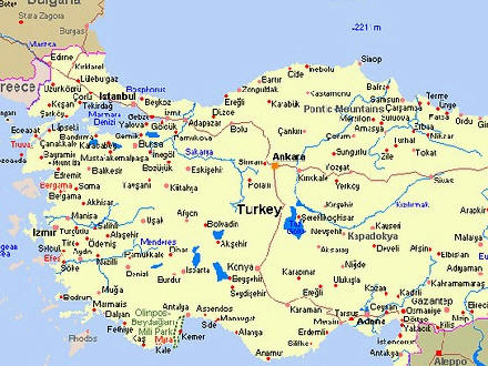 Useful Maps of Antalya in Turkey PLUS OTHER MAPS